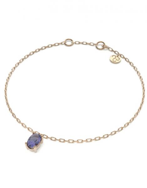 pulsera savina zafiro azul 1